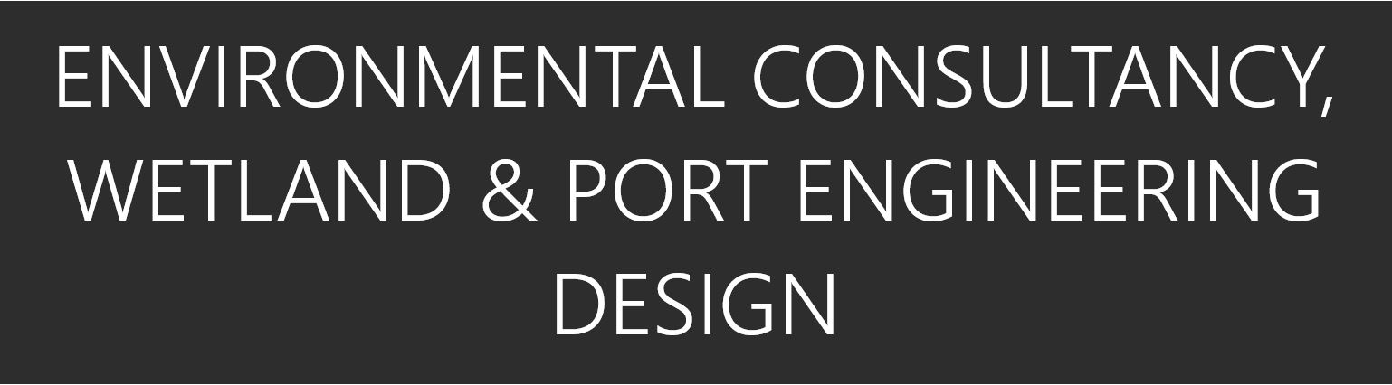 Environmental Consultancy, Wetland, Port Engineering text
